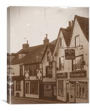 The Standard Inn, Canvas Print