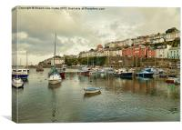 Brixham Harbour 2, Canvas Print