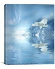 Portrait of Winter, Canvas Print
