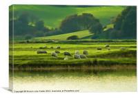 Rural England, Canvas Print