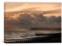 November storm, Canvas Print