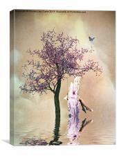 Blossom Angel, Canvas Print