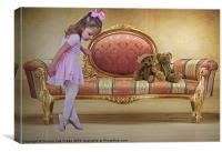 Ballerina, Canvas Print
