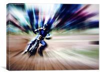 Warp speed, Canvas Print