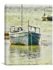 RX9 Rye harbour, Canvas Print