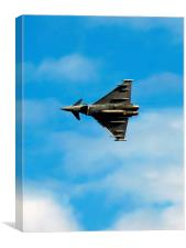 Eurofighter under carriage, Canvas Print
