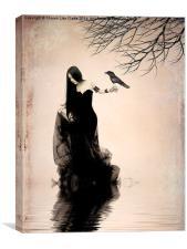 Escape, Canvas Print