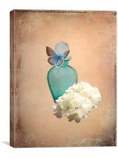 Blue Bottle, Canvas Print