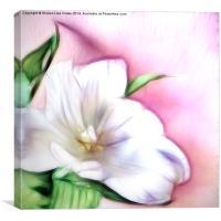 Fractalius Tulip, Canvas Print
