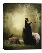 Maiden of the forest, Canvas Print