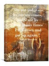 Mandela 2, Canvas Print