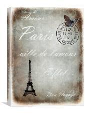 Jaime la France 2, Canvas Print
