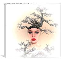 Earth Queen, Canvas Print