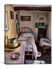 1930's Bedroom, Canvas Print