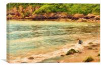 Summer Holiday, Canvas Print