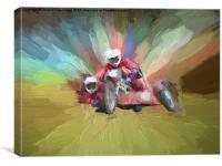 Sidecar, Canvas Print