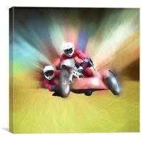 Sidecar B, Canvas Print