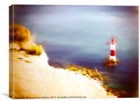 Beachy Head Lighthouse 2, Canvas Print