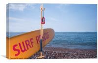 Herne surf, Canvas Print
