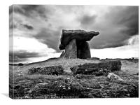 Irish Dolmen, Canvas Print