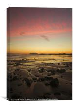 Sunrise at Aughris Head, Canvas Print
