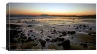 Sunrise in Aughris Head beach, Co Sligo, Ireland, Canvas Print