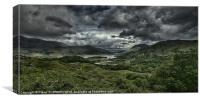 Lakes of Killarney, Canvas Print