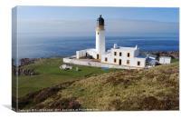 Rubha Reidh Lighthouse - Gairloch, Canvas Print