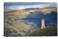Wallace Monument - Stirling, Canvas Print