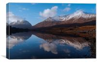 Becalmed - Torridon, Canvas Print