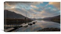 Loch Leven Anchorage, Canvas Print
