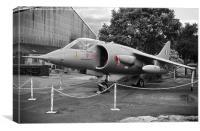 BAe Harrier, Canvas Print