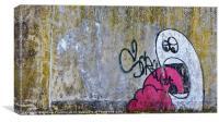 Himley Graffiti, Canvas Print
