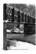 Brockmoor Junction Bridge, Canvas Print