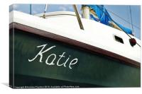 Katie, Canvas Print