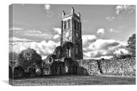 The Abbey Tower, Canvas Print