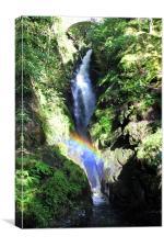 Aira Force Rainbow, Canvas Print
