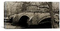 Pooley Bridge, Canvas Print