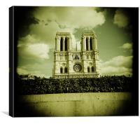 Notre Dame Paris, Canvas Print