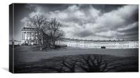 Royal Crescent Bath, Canvas Print