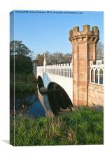 Eglinton Park Tournament Bridge, Canvas Print