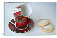 Sugar Shortbread Coffee Break, Canvas Print