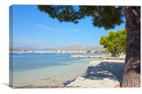 Majorca Sea View, Canvas Print