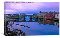 The Auld Brig, Canvas Print