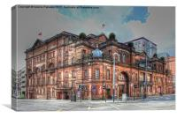 Kings Theatre Glasgow, Canvas Print