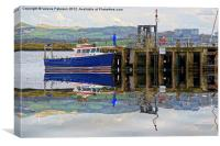 Pier On Millport, Canvas Print