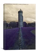 Eglinton Castle Tower, Canvas Print