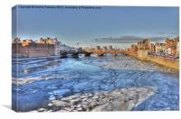 Frozen Waters, Canvas Print