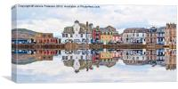 Millport Town, Canvas Print