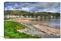 Millport beach, Canvas Print
